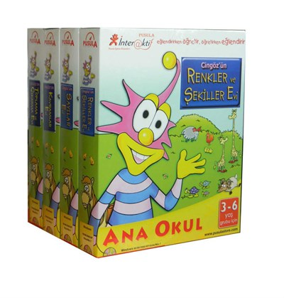 CİNGÖZ İNTERAKTİF 4 CD